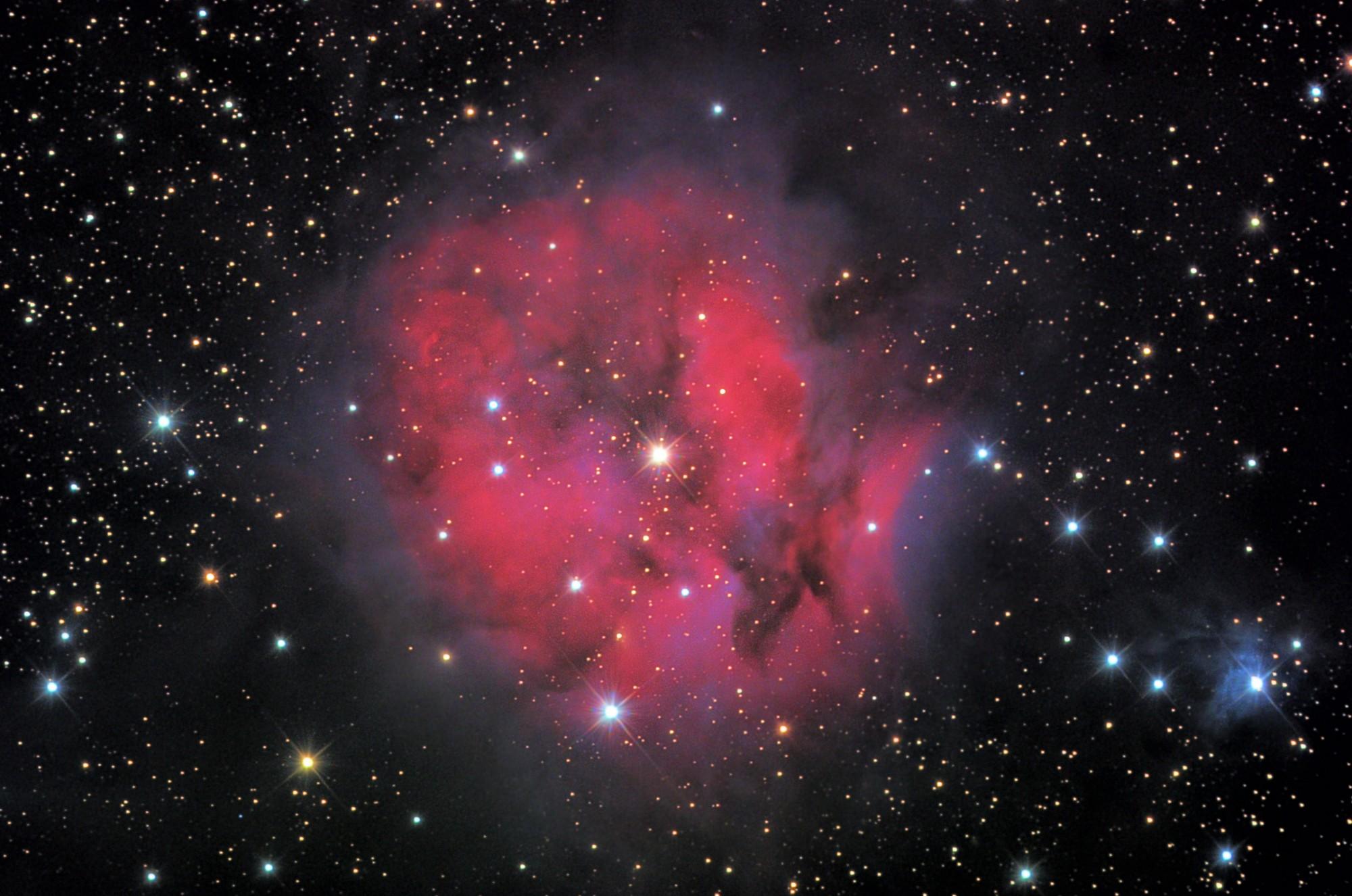 Astrophotography Ic5146 Cocoon Nebula