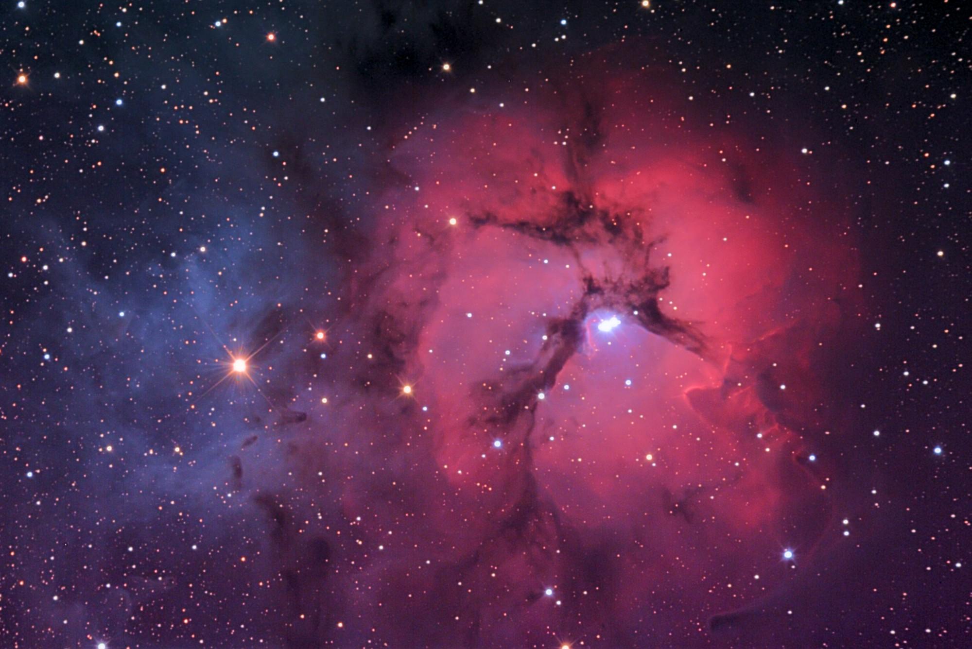 Astrophotography - M20 (Trifid Nebula)