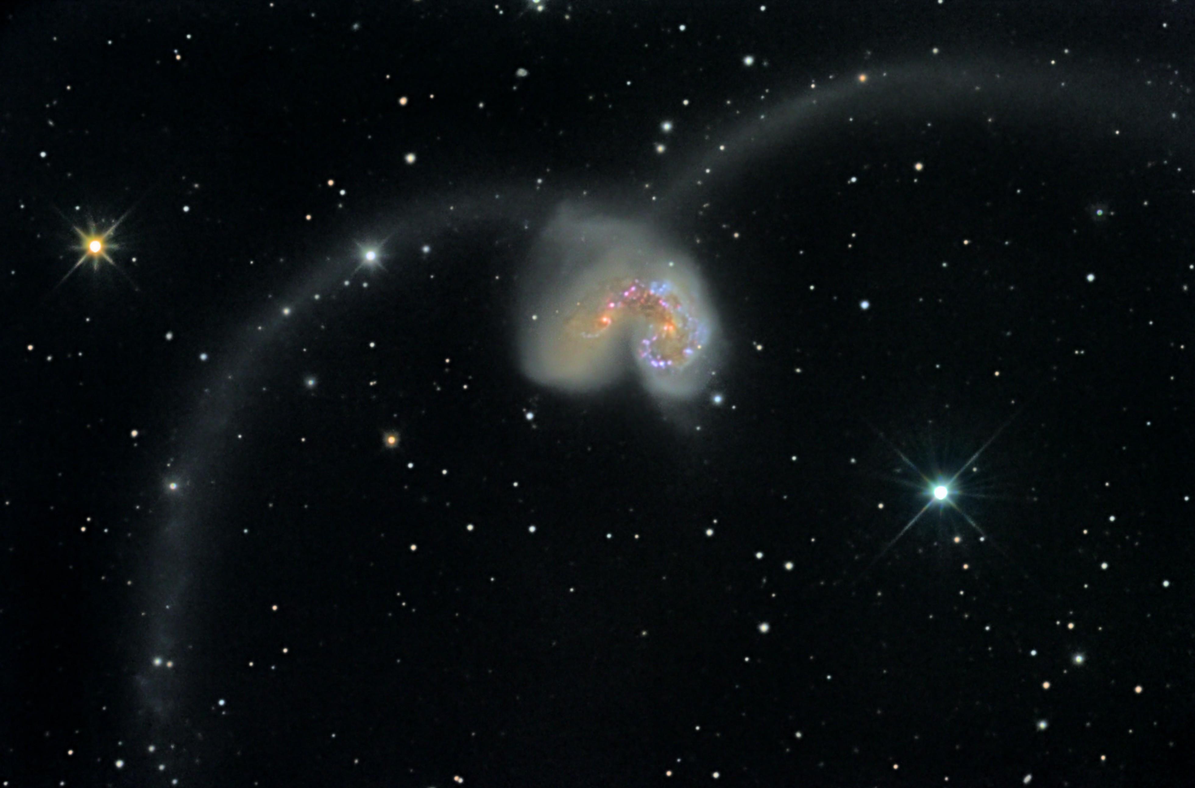 Astrophotography Ngc4038 4039